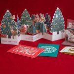 仕掛け満載! 驚きとワクワクの詰まった、クリスマスカードの世界
