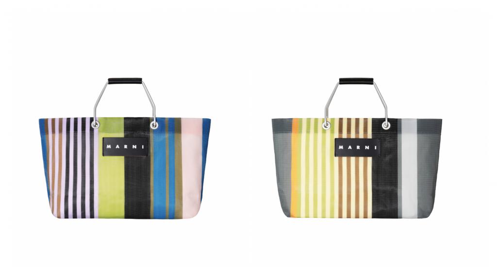 マルニを象徴する「STRIPE BAG」